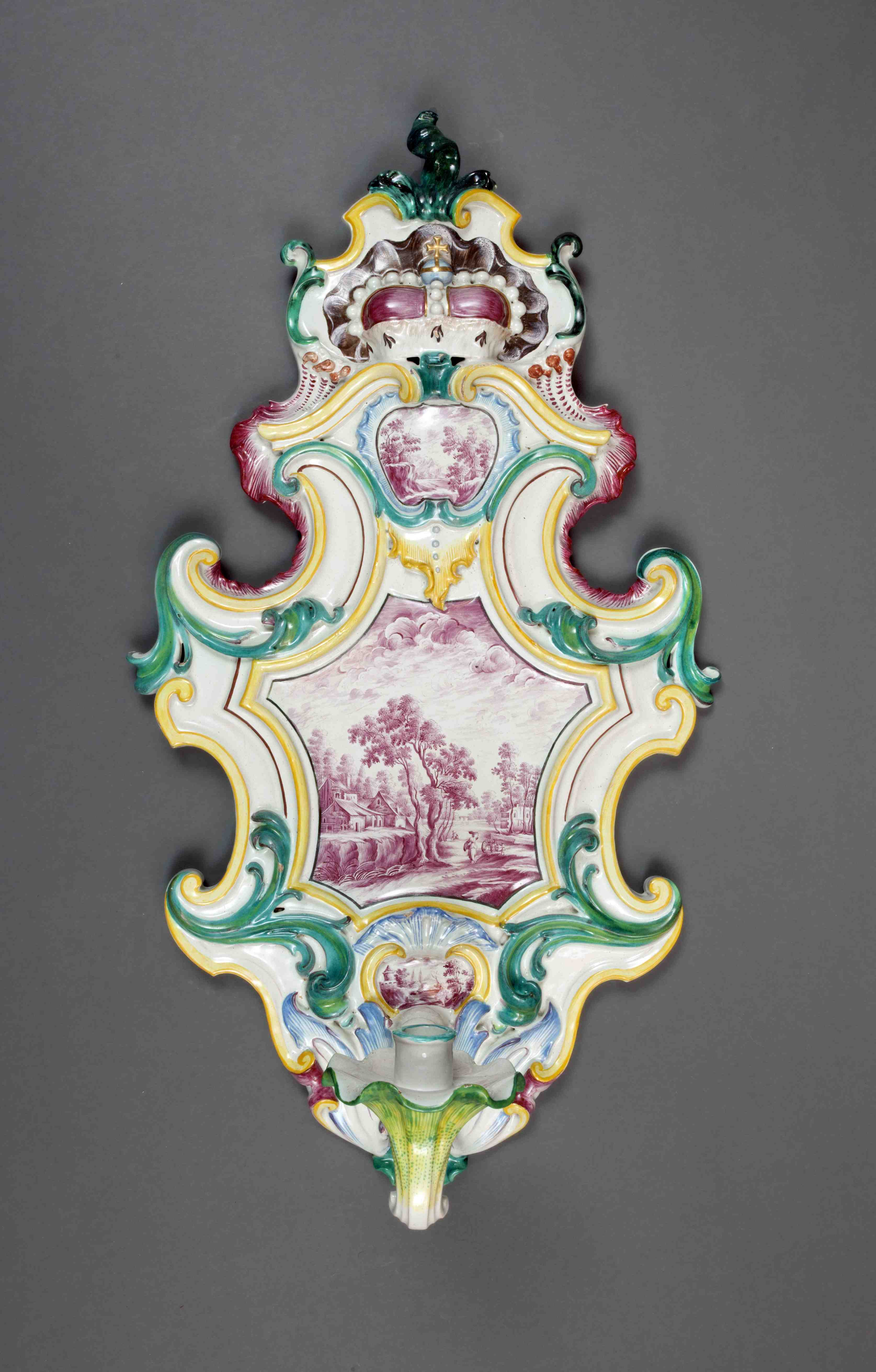 Applike aus Fulda, 1745, Sammlung Neuner (Foto: Christian Oberlander)