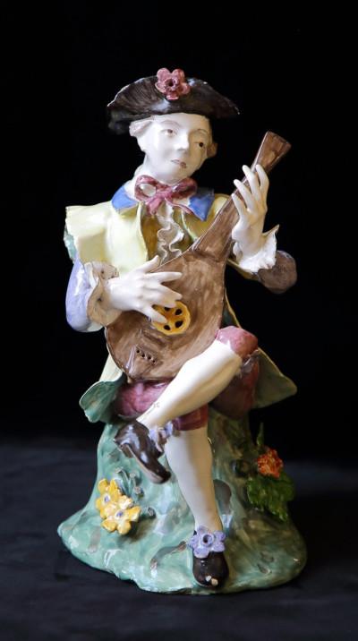 Der Lautenspieler aus Eckernförde, um 1765, bietet von Negelein für 48.000 Euro an (Foto: Von Negelein, Kiel)