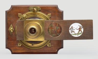 Augsburger Sonnenmikroskop, um 1780 (Foto: Wissenschaftliches Kabinett, Wien)