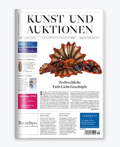 WELTKUNST   Das Kunstmagazin der ZEIT