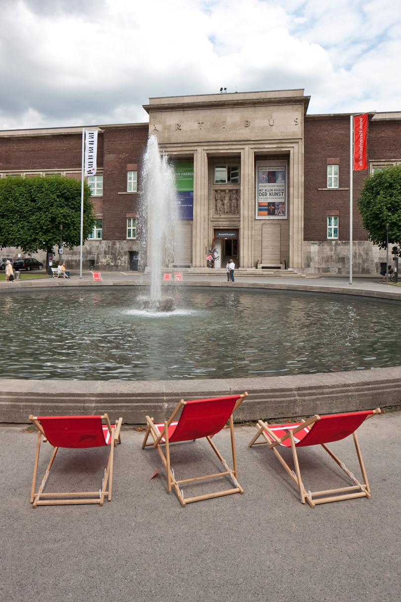 Das Museum Kunstpalast im expressionistischen Ehrenhof- Ensemble nahe dem Rhein (Foto: Stefan Arendt, Medienzentrum Rheinland)