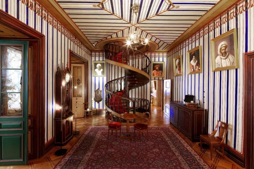 Innenräume das Schlosses Arenenberg