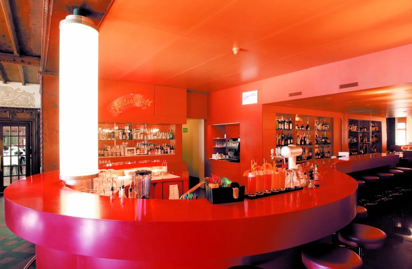 Installation von Pipilotto Rist im Künstlerhotel Castell (Foto: hotelcastell.ch)