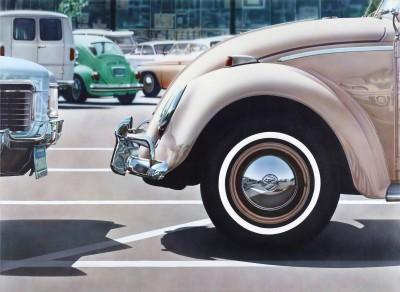 Don Eddys hyperrealistisches Gemälde