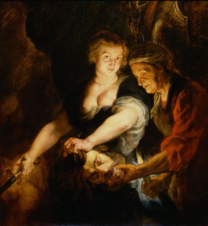 Peter Paul Rubens, »Judith mit dem Haupt des Holofernes«, um 1616/18