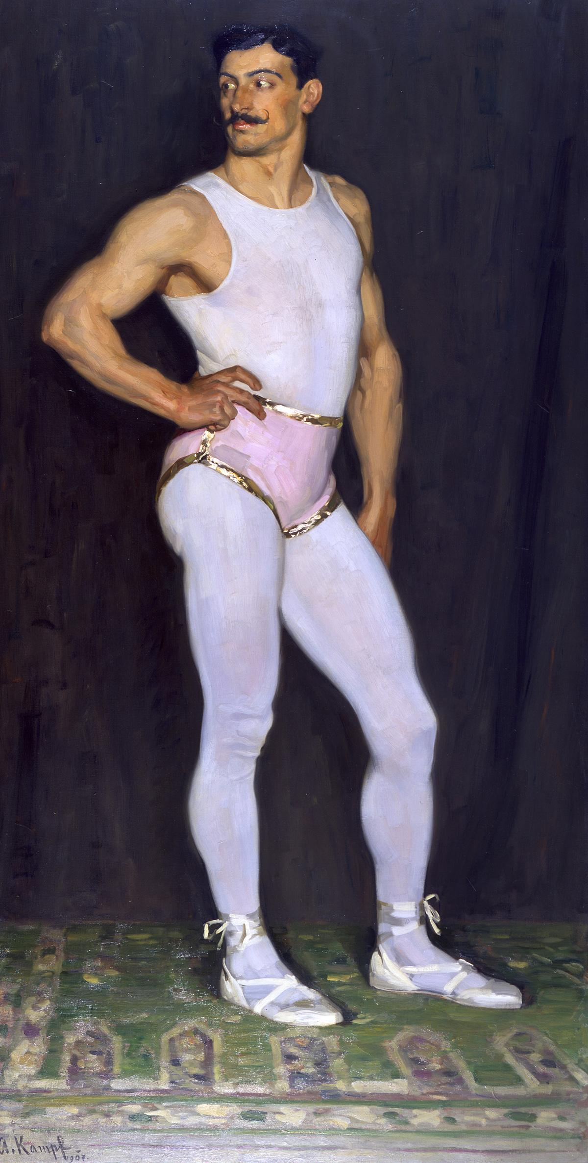 Arthur Kampf, der Artist