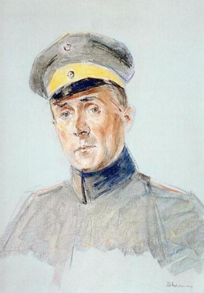 Max Liebermann, Harry Graf Kessler, Pastell, 1916 (Foto: DLA Marbach)