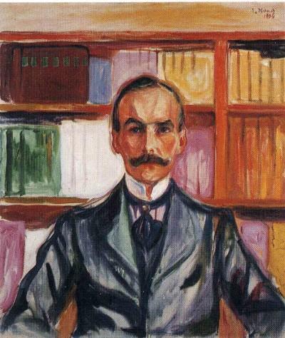 Edvard Munch, Porträt Harry Graf Kessler, Öl/Lwd., um 1904, Privatsammlung (Foto: Liebermann-Haus, Berlin)