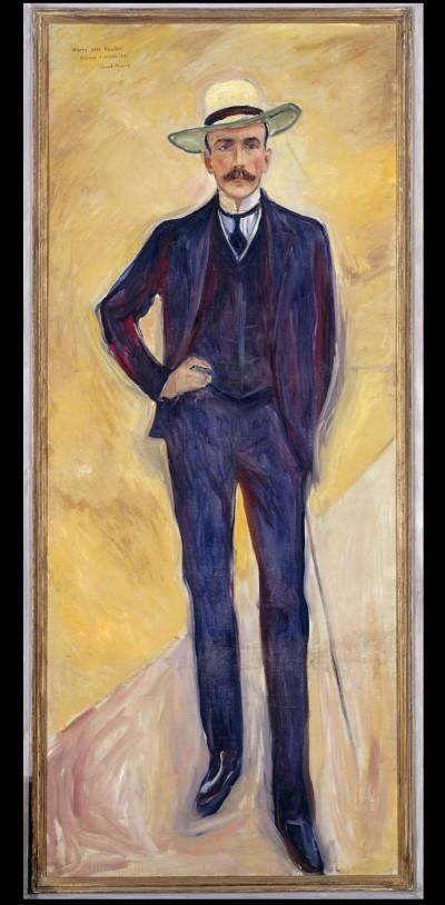 Edvard Munch, Harry Graf Kessler, Öl/Lwd., 1906 (Foto: Staatliche Museen zu Berlin, Nationalgalerie)
