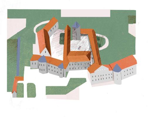 Tag 1: Stadtrundgang durch Kronach (Illustration: Marta Slawinska)