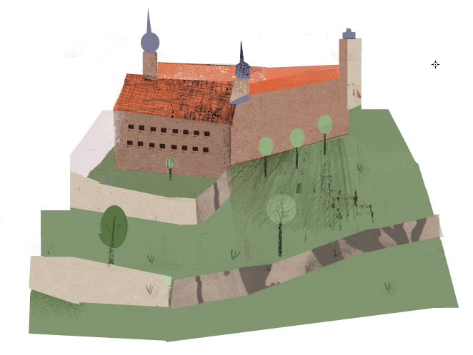 Tag 3: Zum Schloss Thurnau (Illustration: Marta Slawinska)