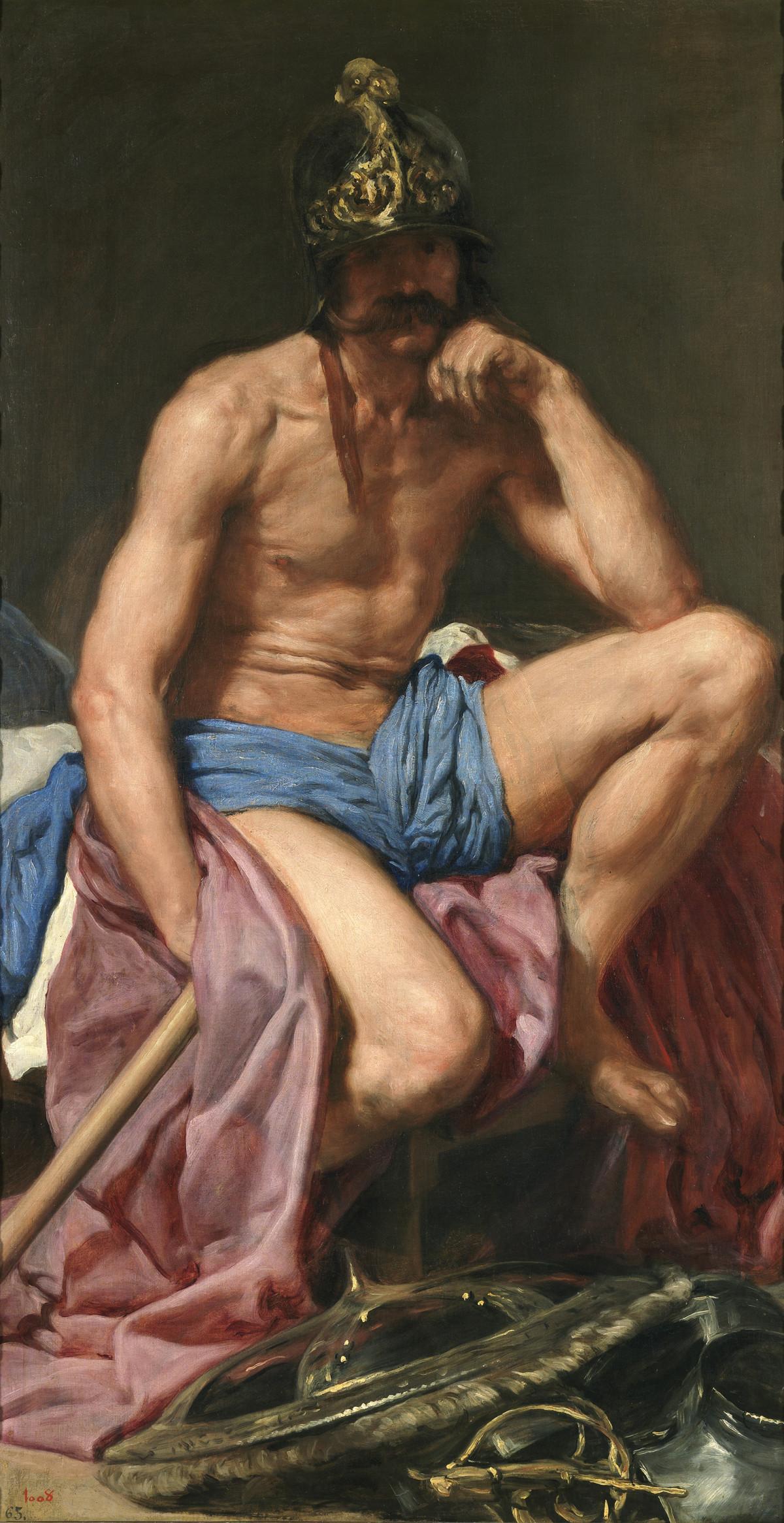 Diego Velázquez: Mars, ca. 1641, © Museo Nacional del Prado