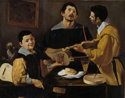 Diego Velázquez: Die drei Musikanten, um 1616-20, © Staatliche Museen zu Berlin, Gemäldegalerie (Foto: Jörg P. Anders)