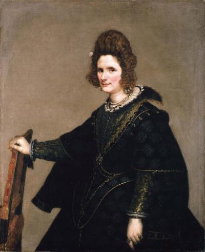 Diego Velázquez: Bildnis einer Dame, um 1630/33, © Staatliche Museen zu Berlin, Gemäldegalerie (Foto: Jörg P. Anders)