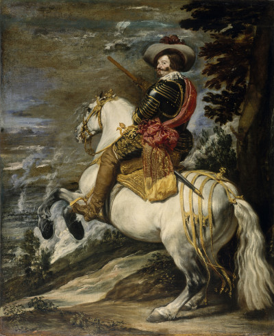 Diego Velázquez: Don Gaspar Guzmán, Conde Duque de Olivares, ca. 1635, © bpk, The Metropolitan Museum of Art, Malcolm Varon