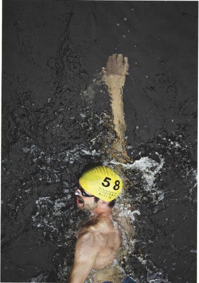 Schwimmer im Sommer 2015 (Foto: Axel Schmidt, realities:united/Flussbad Berlin e.V.)