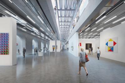 Simultation des Neubaus (ab 2019) des Ingolstädter Museums für Konkrete Kunst (Foto: Museum für Konkrete Kunst Ingolstadt)