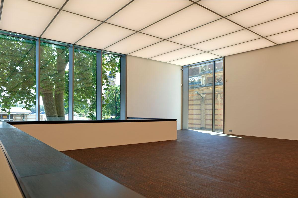 Der Neubau der Galerie Alte und Neue Meister in Schwerin (Foto: G. Bröcker)