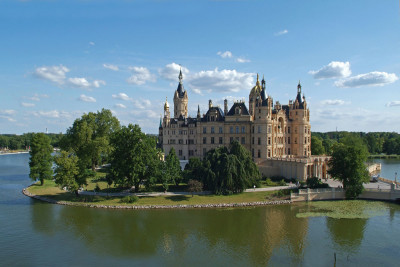Das Schloss Schwerin steht auf der Tentativliste fürs UNESCO-Welterbe (Foto: G. Bröcker)