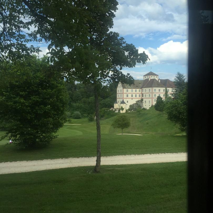 Schloss Langenstein in Baden, unweit des Bodensees