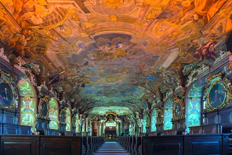 Die Aula Leopoldina der Universität ist einer der bedeutendsten profanen Barockbauten Europas (Foto: Peter Hirth/laif)