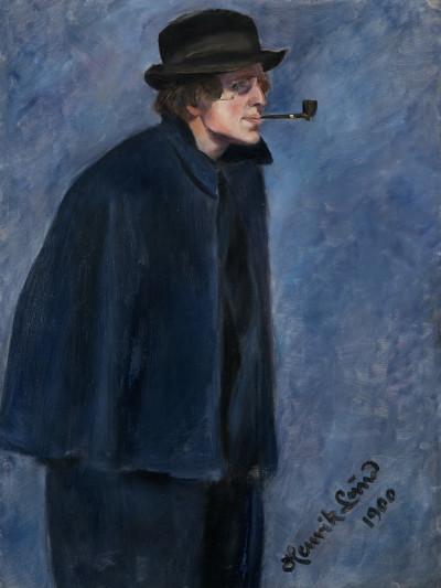 Porträt von Nikolai Astrup, 1900