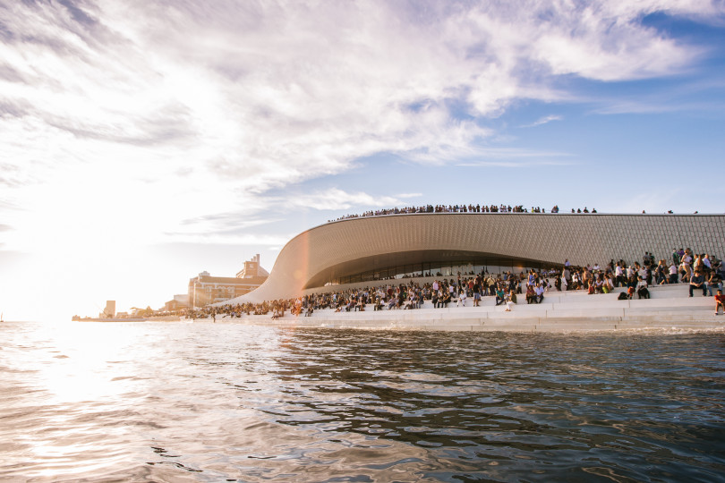 Neueröffnung des Mseums MAAT, Lissabon