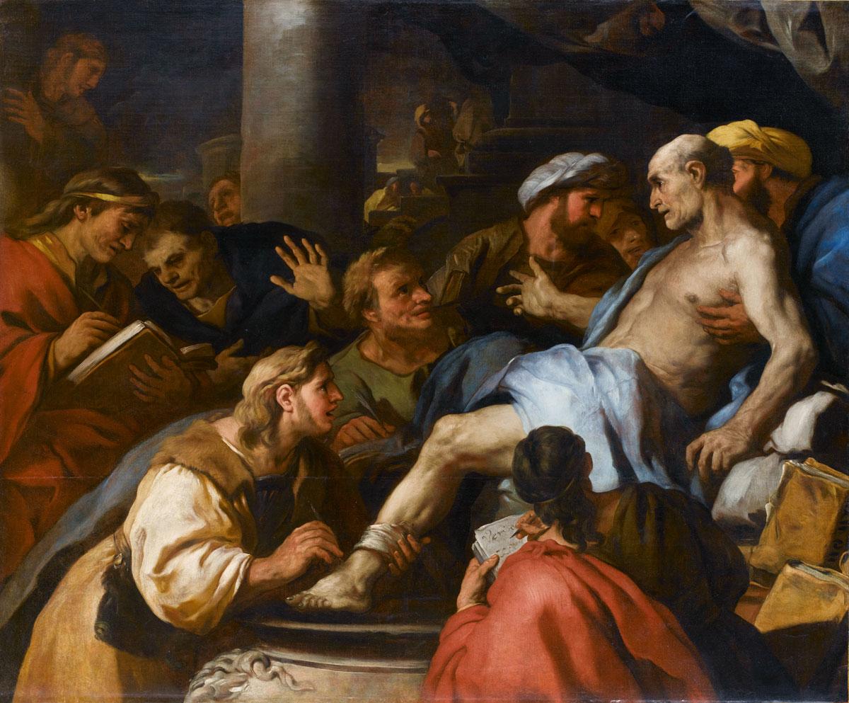 Luca Giordano, Meister der Dramaturgie und Theatralik, malte Gemälde, die er nach ganz Europa exportierte:
