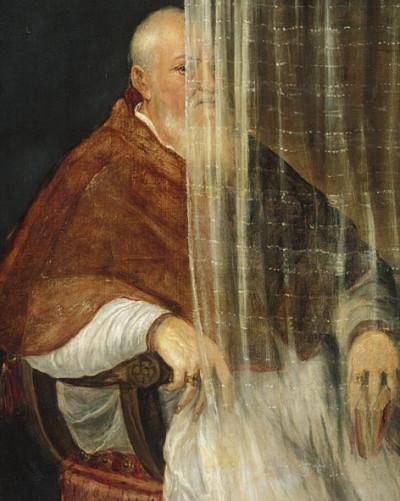 Hinter dem Vorhang: Verhüllung und Enthüllung seit der Renais- sance. Von Tizian bis Christo