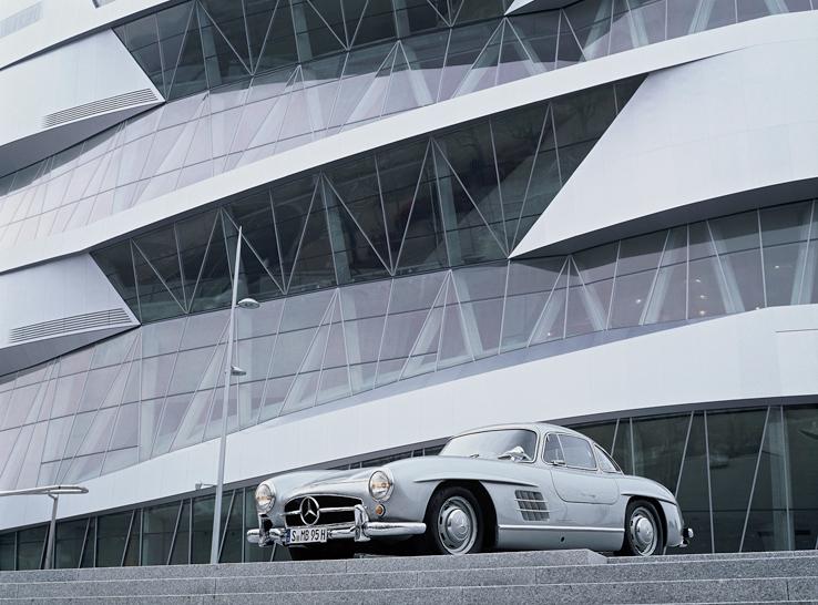 Ein Besuchermagnet ist das Mercedes-Benz Museum (Foto: Mercedes Benz Museum)