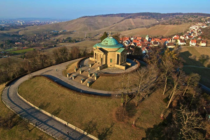 Die Grabkapelle auf dem Württemberg (Foto: Galgenberger/Creative Commons)