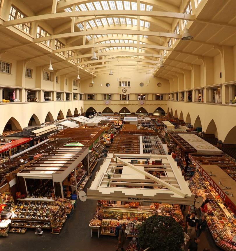 Paradies für Feinschmecker: die Stuttgarter Markthalle (Foto: Thomas Wolf/Creative Commons)