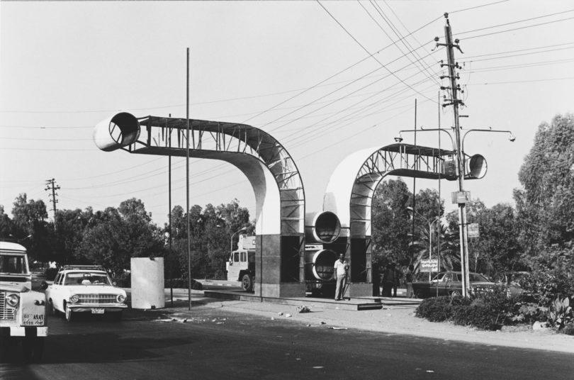 Der Architekt Rifat Chadirji hat in den 60er Jahren begonnen, die Architektur in Bagdad, im Irak und in Syrien fotografisch zu dokumentieren (Foto: Courtesy of the Arab Image Foundation)