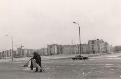 Berlin, Potsdamer Platz, 1990 (Foto: Sibylle Bergemann)