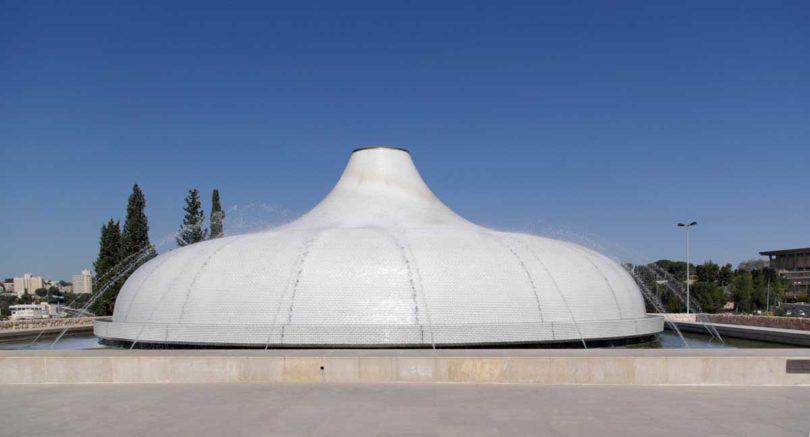 Schrein des Buches - ein Flügel des Israel-Museums (Foto: wikimedia)