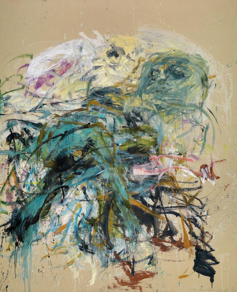 Martha Jungwirth: Ohne Titel, signiert, datiert Martha Jungwirth 86, Öl auf dünnem Karton auf Leinwand, 210 x 172 cm, Dorotheum, Wien, (Foto: Dorotheum, Wien)