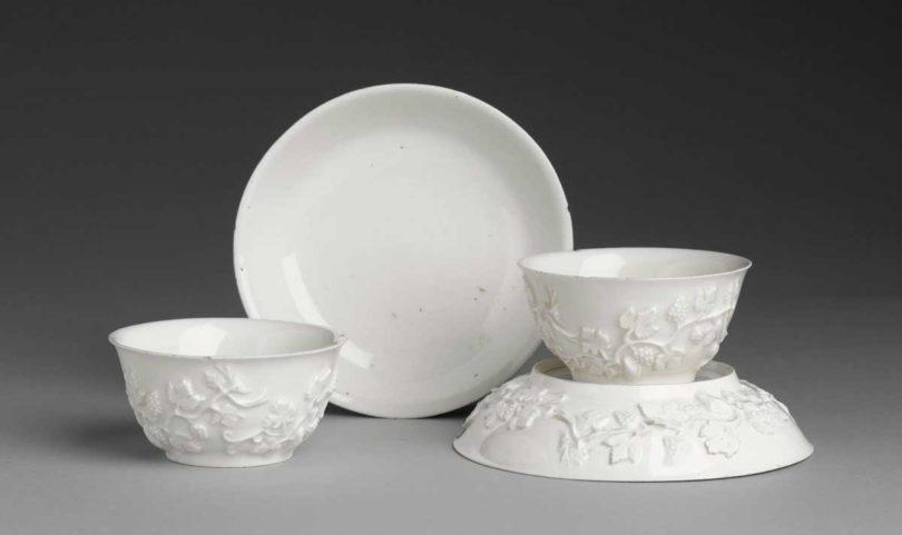 Meissen Porzellan, Unterschalen von Johann Jakob Irminger