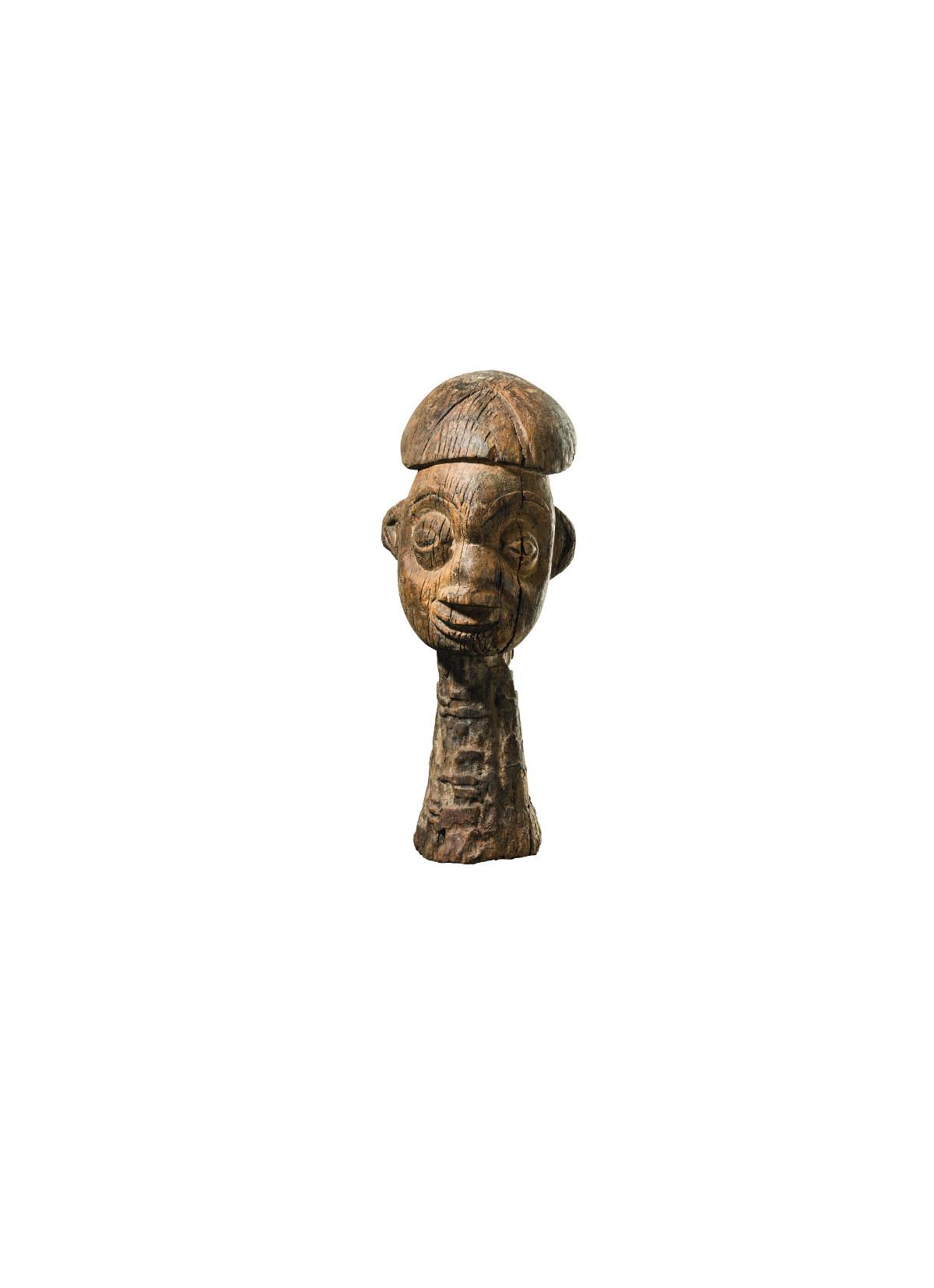 Bamum, große Kopfskulptur