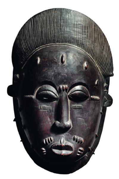 Baule-Maske, Elfenbeinküste