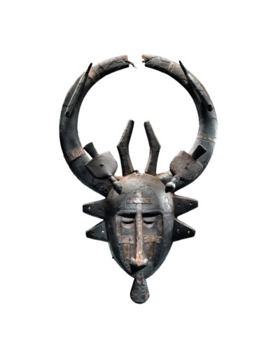 Senufo/Marka-Maske aus Holz und Metall, spätes 19. Jh. (Foto: Vincent Girier Dufournier/Galerie Lucas Ratton, Paris)