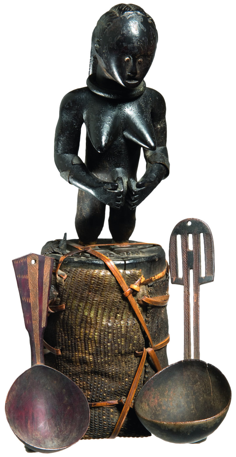 Fetischfigur der Fang aus der Sammlung des Kolonialoffiziers Zickwolff