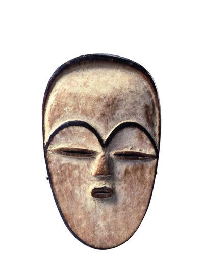 Vuvi-Maske aus Gabun mit Brauenbögen