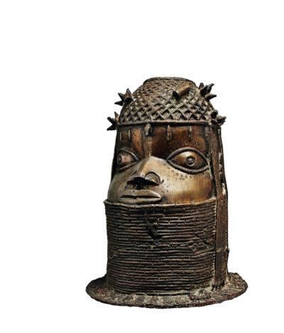 Benin-Bronze, spätes 18. Jh.