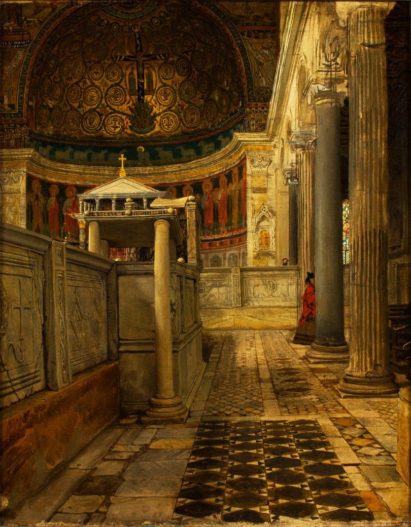 Wenn Lawrence Alma-Tadema ein Mosaik malte, dann glich es dem Vorbild bis auf den Haarriss:
