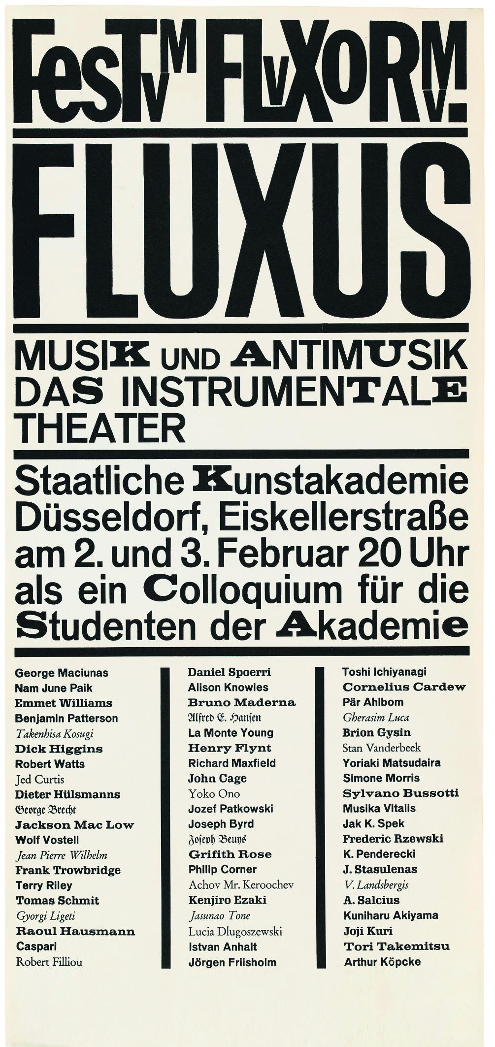 Das Plakat für