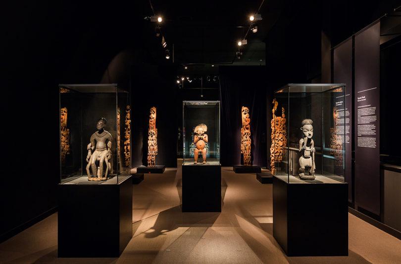 Ausstellungsansicht Ethnologisches Museum