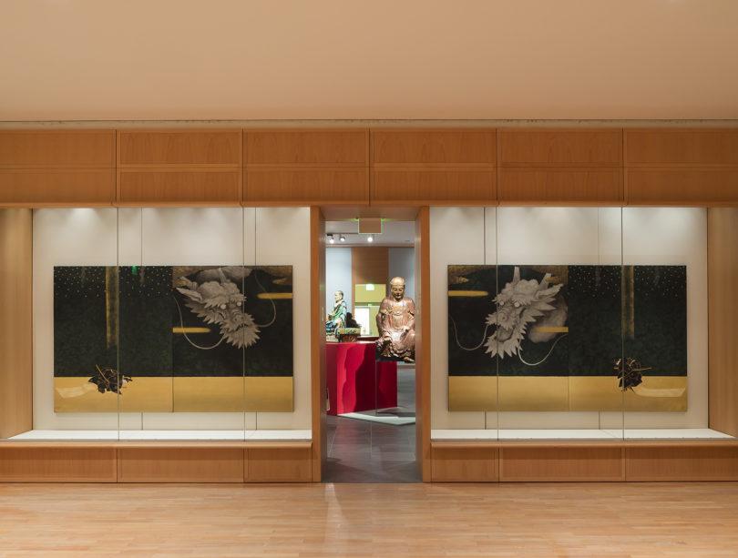 Ausstellungsansicht Museum für Asiatische Kunst