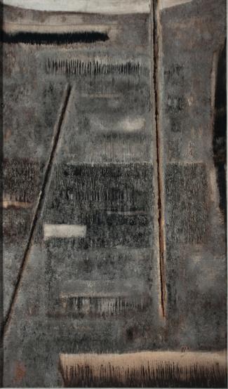 Stefan Gierowski, Obraz XC [Painting XC], 1960