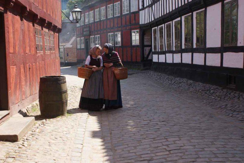 Geschichte zum Anfassen: das Freilichtmuseum Den Gamle By (Foto: Den Gamle By)