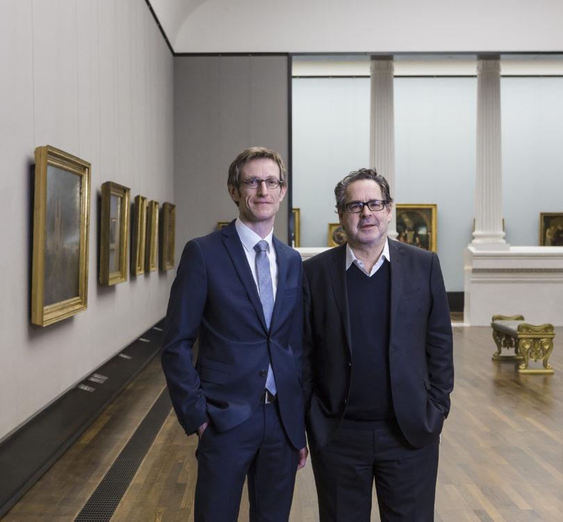 Udo Kittelmann, Direktor der National- galerie und Ralph gleis, leiter der Alten Nationalgalerie ab mai 2017